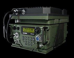 Wideband Military Radio 3D asset