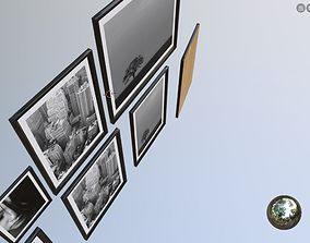 VR / AR ready wall art architectural assets picture frames