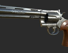 Colt Phyton Magnum 357 - PBR Game ready prop 3D model