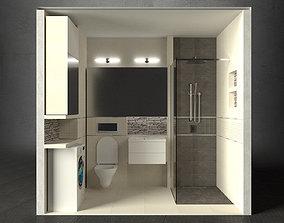 Bathroom - Sosnowy Las 3D