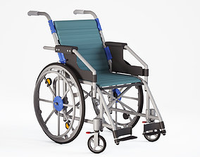 3D model Wheelchair medical