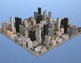 3D model VR / AR ready City KC9
