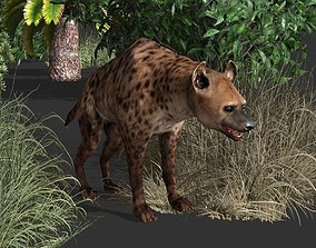 3D model Hyena Animal Game Ready