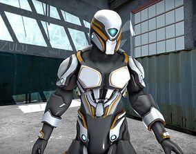 3D model Zealot Mercenary Prison Gaurd