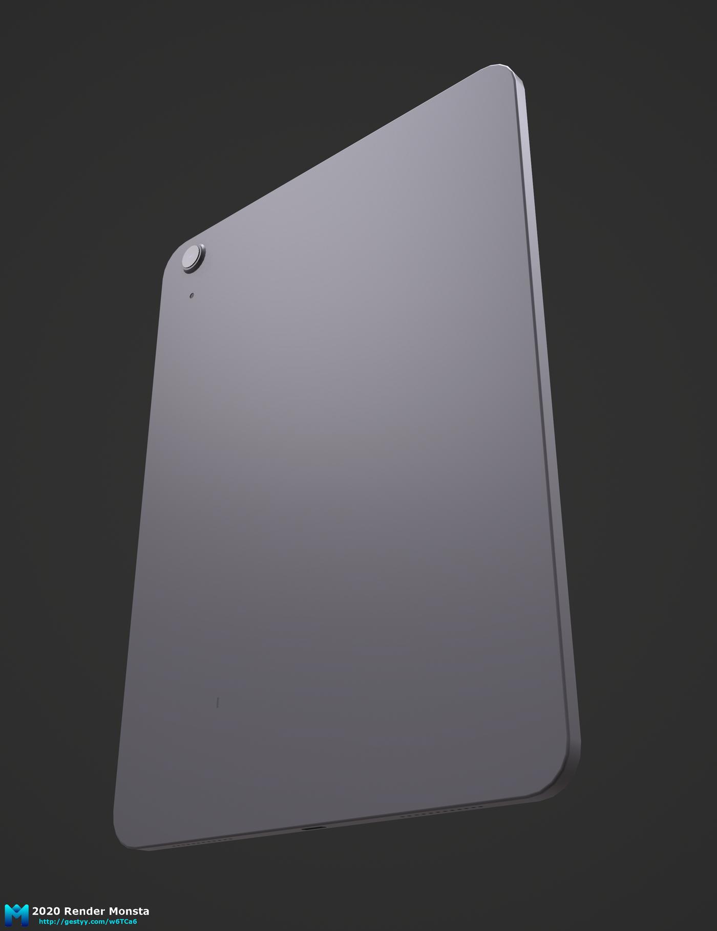 2020 Apple Ipad air pbr lowpoly model