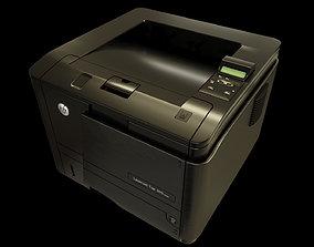 animated 3D Laser Printer