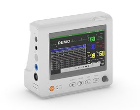 7 Inch Patient Monitor 3D