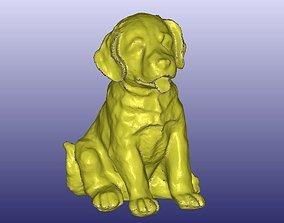 Labrador Puppy Dog Statue 3D Scan