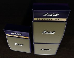 Marshall purple Stack 3D model