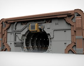 3D sci-fi architecture 4