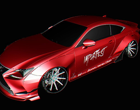 3D model Lexus RC Rocket bunny