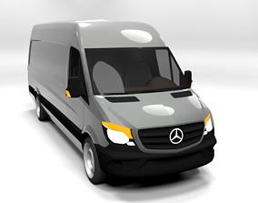 MERCEDES SPRINTER XL 2014 LOWPOLY 3D asset