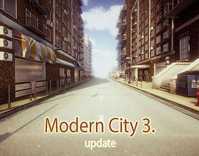 Modern City 3 UPDATE 3D model