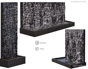 3D Water wall fountains