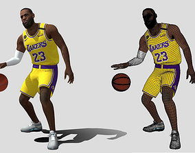 3D asset Le Bron James