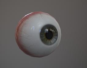 Human Eye 3D model game-ready