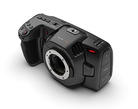 Blackmagic Pocket Cinema Camera 4K CAD 3D