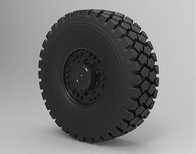 3D model Offroad truck wheel