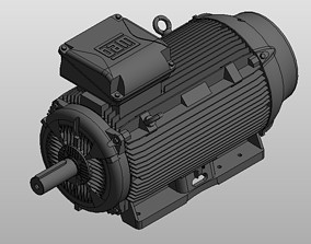 3D model Electric Motor 1 machinery