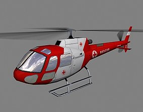 3D asset As-350 V6 Helicopter