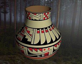 Native American pottery 2 3D print model