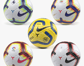 NIke Merlin Ball Collection 3D model