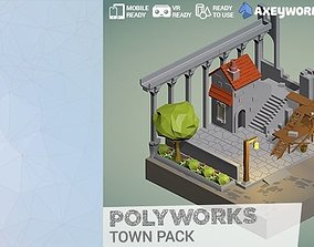PolyWorks Town Pack 3D model