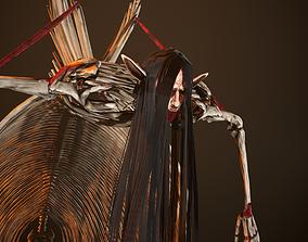 Attack On Titans - Eren Squeleton titan rigged 3D model 2