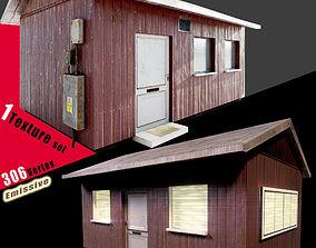 3D model VR / AR ready Small House