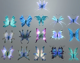 3D asset Butterflies 2 Animated