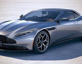 3D model Aston Martin DB11 volante 2019