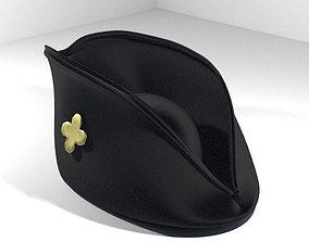 Hat - Tricorne 3D model