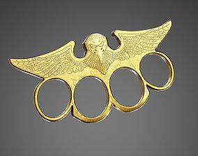 3D model Brass Knuckles AAA Game Ready Asset