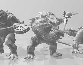 3D print model Kroxigor Swamp-rompers