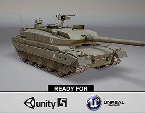 3D asset Type 10 Main Battle Tank