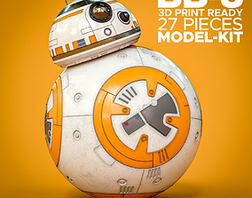 starwars Star Wars BB-8 3D Print Ready Model Kit