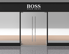 Shop Front - Hugo Boss 3D model