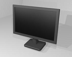 electronics 3D model Desktop Monitor