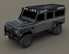 3D Land Rover Defender 110 Custom