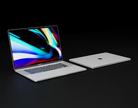 3D Apple MacBook Pro 16 inch 2019 In Dark and Light Gray