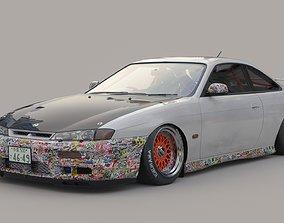 Nissan silvia s14 3D model
