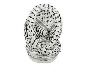 3D HeadScarf Nice And Warm