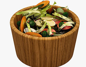 Salad 001 3D asset