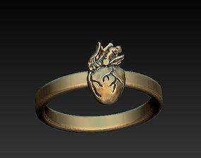 3D print model CARDIOVASCULAR - heart ring