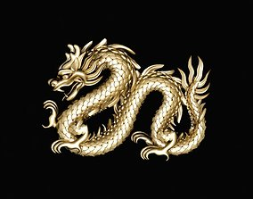 3D print model dragon for jewelry 429
