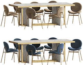 3D Dinning Set chair