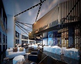 3D hotel Lobby 01