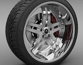 3D Savini Forged SV-1S Wheel