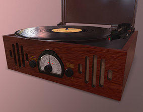 Phonograph 3D asset realtime