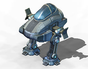 Ground object - operating robot 3D